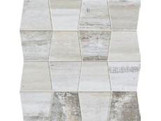 Мозаика Ascot Rafters Mos.Trapezi Ascot Rafters White 30x30 см