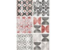 Декор Cir Cotto Formella Texture S/6 Grigio 20x20 см