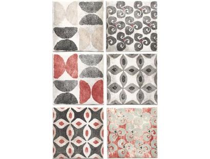 Декор Cir Cotto Inserto Texture S/6 Grigio 10x10 см