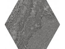 Керамогранит Ape Soft Hexagon  Anthracite 23x26 см