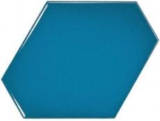 Плитка Equipe Scale Benzene Electric Blue (23834) 10,8x12,4 см