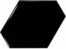 Плитка Equipe Scale Benzene Black (23833) 10,8x12,4 см