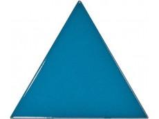 Плитка Equipe Scale Triangolo Electric Blue (23822) 10,8x12,4 см