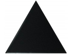 Плитка Equipe Scale Triangolo Black Matt (23820) 10,8x12,4 см