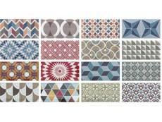 Плитка Equipe Metro Patchwork Colours 7,5x15 см