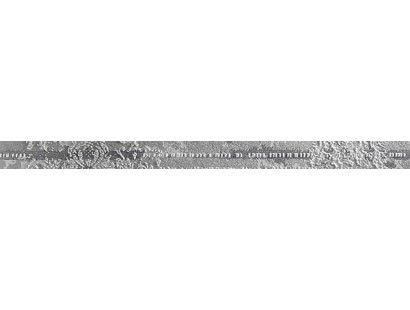Бордюр Ceramiche Brennero ListelloMetallikGrey 4x60 см