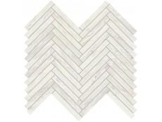Мозаика Ascot Gemstone Lisca White Rett 30x33 см