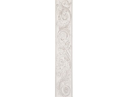 Бордюр ABK Grace List. Statuario Acantus 15x75 см