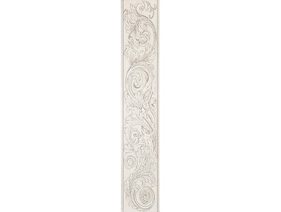 Бордюр ABK Grace List. Alabastro Acantus 15x75 см