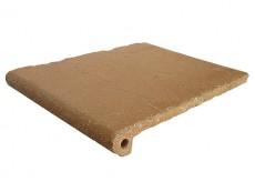Фронтальная ступень Antique Sand/Античный Песочный клинкерная 33x25 см
