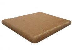 Угловая ступень Antique Sand/Античный Песочный клинкерная 33x33 см