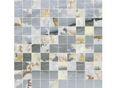 Мозаика Ceramiche Brennero Venus Mos.Q.Solitaire Mix Lapp. Blu Tess. (2,9X2,9) 30x30 см