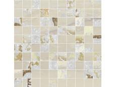 Мозаика Ceramiche Brennero Venus Mos.Q.Solitaire Mix Lapp. Sand Tess. (2,9X2,9) 30x30 см