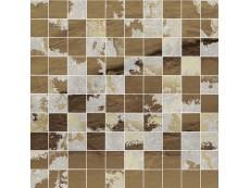 Мозаика Ceramiche Brennero Venus Mos.Q.Solitaire Mix Lapp. Visone Tess. (2,9X2,9) 30x30 см