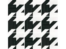 Керамогранит Equipe Caprice Deco Tweed B&W 20x20 см