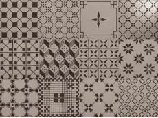 Декор Ragno A_Mano Ardesia Decoro Mix R6MT (Mix12) 20x20 см