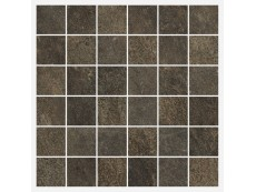 Мозаика Italon Genesis Brown Mosaico 30x30 см