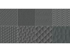 Декор  Italon Play Carbon Ret 15x15 см