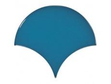 Плитка Equipe Scale Fan Electric Blue (23841) 10,6x12 см