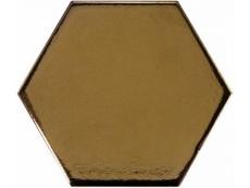 Плитка Equipe Scale Hexagon Metallic (23837) 10,7x12,4 см