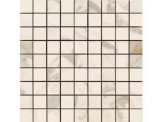 Мозаика Ragno Bistrot Mosaico Calacatta Michelangelo Soft (R4ZM) 30x30 см