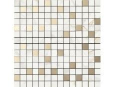 Мозаика Ragno Bistrot Mosaico Calacatta Michelangelo (R4ZU) 40x40 см