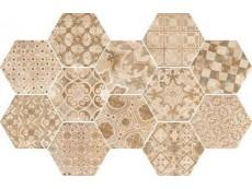 Керамогранит Ragno Epoca Decoro cementine Rosa R55U 21x18,2 см
