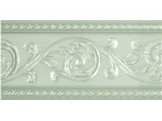 Бордюр Caprichosa Cenefa Yara Verde Pastel 7,5x15 см