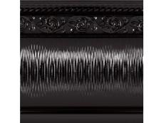 Бордюр Caprichosa Zocalo Yara Negro 15x15 см