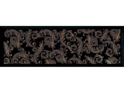 Декор Versace Solid Gold Barocco Black (265027) 20x60 см