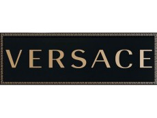 Декор Versace Solid Gold Firma Black (265022) 20x60 см
