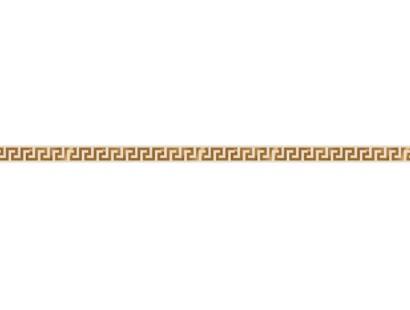 Бордюр Versace Solid Gold List.Greca Cream (265060) 2,5x60 см