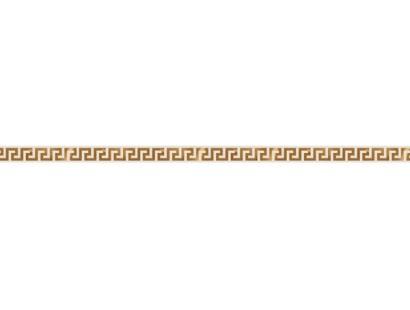 Бордюр Versace Solid Gold List.Greca White (265061) 2,5x60 см