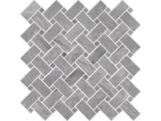 Мозаика Cerdomus Supreme Mosaico Kadi Grey Lev (78081) 30x30 см
