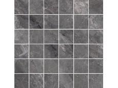 Мозаика Cerdomus Supreme Mosaico Charcoal Nat. 4.7x4.7 (75531) 30x30 см