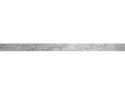Бордюр Ceramiche Brennero List. Stars Silver 3.8x60 см