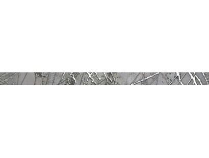 Бордюр Ceramiche Brennero List. Bright Silver 3,8x60 см