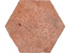 Керамогранит Cir Chicago Esagona Wrigley (Rosso) 24x27,7 см