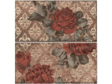 Декор Cir Chicago Ins, Vintage Roses S/2 Old 10x20 см