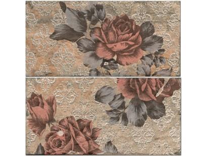 Декор Cir Chicago Ins,Vintage S/2 Roses South Side 10x20 см
