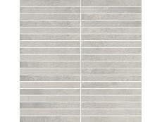 Мозаика Italon Millennium Silver Mosaico Strip 30x30 см