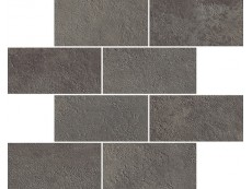 Мозаика Italon Millennium Black Minibrick 23,7x29,5 см