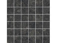 Мозаика Italon Room Stone Black Mosaico 30x30 см