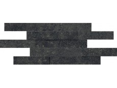 Мозаика Italon Room Stone Black Brick 3D 28x78 см