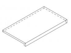 Фронтальная ступень Italon Room Black X2 Scal.Front 33x60 см