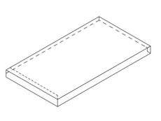 Угловая ступень Italon Room Black X2 Scal Ang.Sx Левая 33x60 см