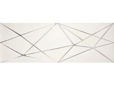 Декор Ape Crea Dec Zig Zag White 30x90 см
