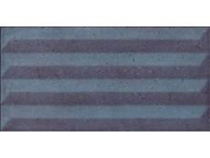 Плитка Cifre Aston Relieve Blue 12,5x25 см