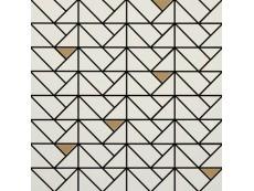 Мозаика Marazzi Eclettica Cream Bronze 40x40 см