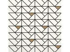 Мозаика Marazzi Eclettica White Bronze 40x40 см